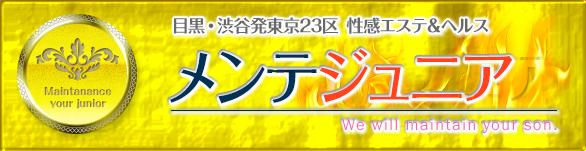 渋谷・恵比寿・目黒・五反田発風俗エステ「メンテジュニア」は回春のプロが貴方の大切な相棒をしっかりメンテ致します
